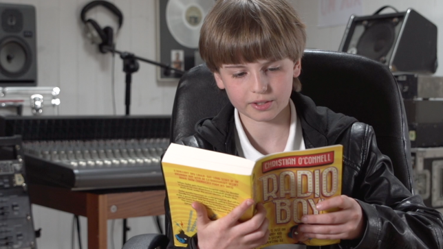 Radio Boy Reading