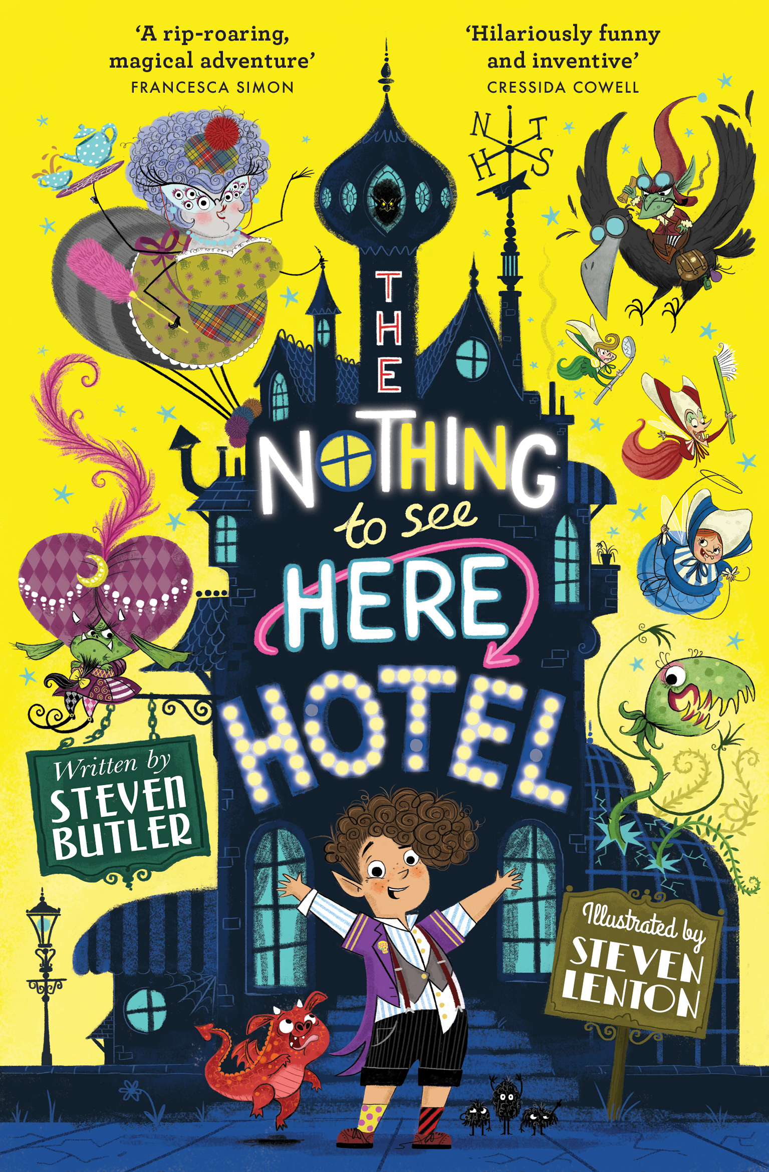 Nothing to See Here Hotel Cover