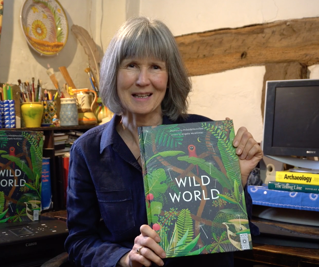Exploring Wild Worlds With Angela Mcallister Authorfy