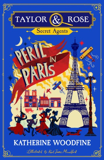 Perils in Paris Cover