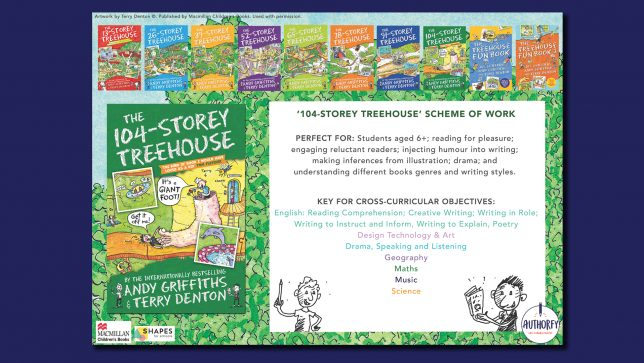 104 Storey Treehouse Scheme of work