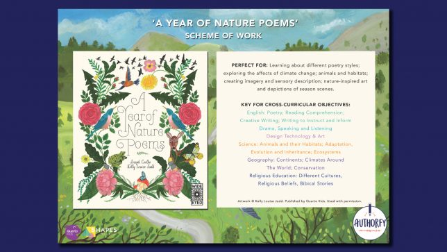 A Year of Nature Poems Scheme of work
