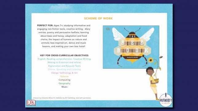 The Bee Book Scheme of work