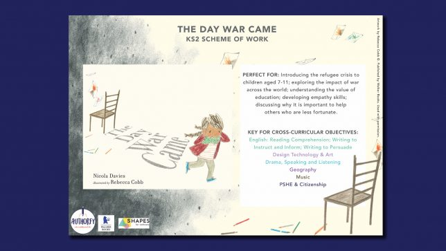 The Day War Came KS2 Scheme of work