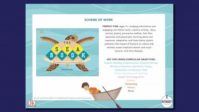 The Sea Book Scheme of work
