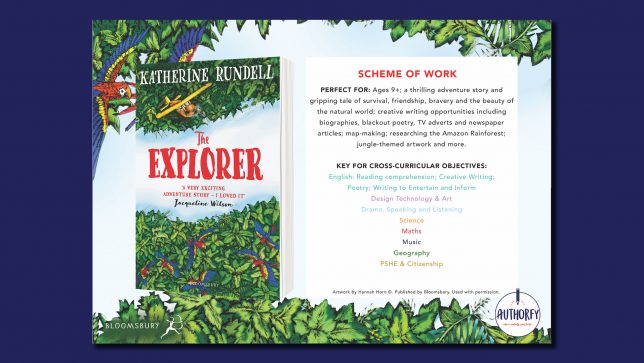The Explorer Scheme of work