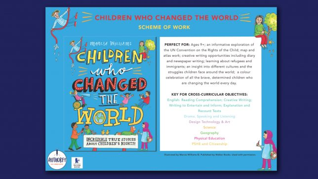 Children Who Changed The World Scheme of work