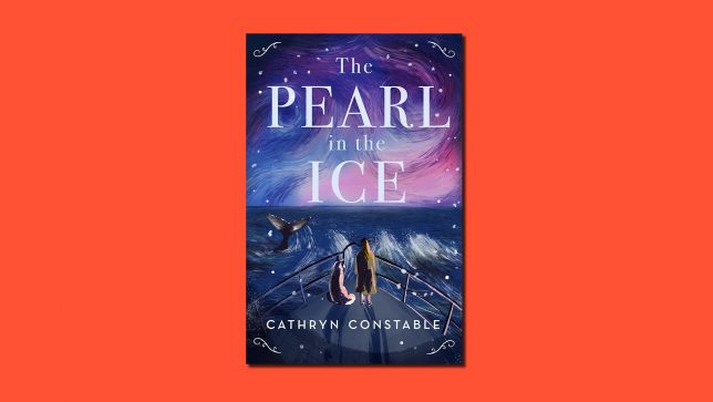 The Pearl in the Ice book cover on red background