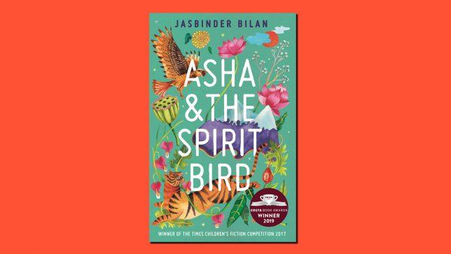 Jasbinder Bilan Asha & the Spirit Bird Book on Red