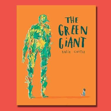 Red Creative Cover Green Giant