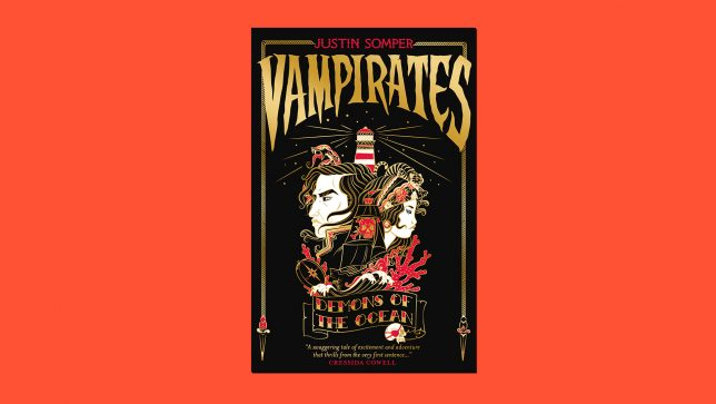 Vampirates book cover on red background