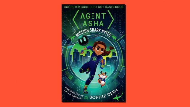 Agent Asha Book Cover