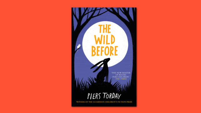The Wild Before book cover on red background copy