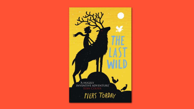 The Last Wild book cover on red background