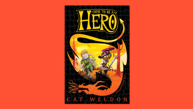 How To Be A Hero book cover on red background